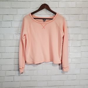 Aerie light pink comfy sweatshirt